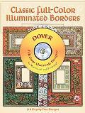 Classic Full-color Illuminated Borders 119 Royalty-Free Designs