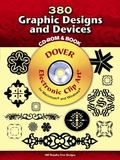 380 Graphic Designs and Devices CD-ROM and Book