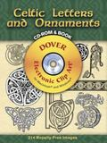 Celtic Letters and Ornaments  [Dover Electronic Clip Art Series]