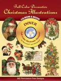 Full-Color Decorative Christmas Illustrations