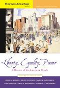 Liberty, Equality, Power A History Of The American People Since 1863, Compact