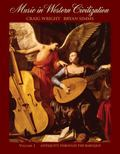 Music In Western Civilization Antiquity Through The Baroque