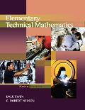 Elementary Technical Mathematics with Infotrac 1 Pass