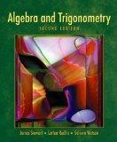 Student Solutions Manual for Stewart/Redlin/Watson's Algebra and Trigonometry, 2nd