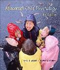 Abnormal Child Psychology With Printed Access Card Thomsonnow