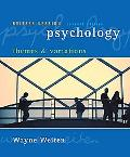 Psychology: Themes and Variations, Briefer Version, 7th Edition (Seventh Ed.) 7e, by Wayne W...