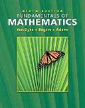 Fundamentals of Mathematics Non-media Version