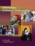 Elementary Technical Mathematics Basic Select Version
