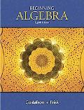 Beginning Algebra, Non-media Edition Non-media Edition