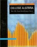 COLLEGE ALGEBRA: Math 158 Thomas Nelson College (with Interactive Video Skillbuilder CD-ROM)