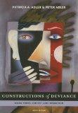 Constructions of Deviance: Social Power, Context, and Interaction: 6th (Sixfth) Edition