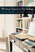 Writing Papers in Psychology (with Infotrac Printed Access Card)