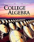 College Algebra (Available 2010 Titles Enhanced Web Assign)