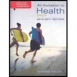 Personal Health Self-Assessment/Health Almanac for Hales' An Invitation to Health, Brief Edi...