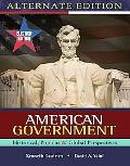 Election Update American Government: Historical, Popular, Global Perspectives, Alternative E...