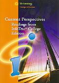 Current Perspectives Reading for InfoTrac? College Edition: Victimology