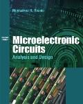 Microelectric Circuits: Analysis and Design