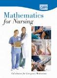 Mathematics for Nursing: Calculations for Emergency Medications (DVD)
