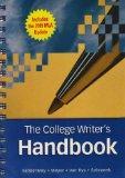 The College Writer's Handbook (with 2009 MLA Update Card)