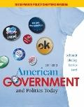 American Government and Politics Today, No Separate Policy Chapters Version, 2011-2012