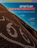 American Government: Historical, Popular, and Global Perspectives, No Separate Policy Chapters