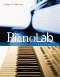 PianoLab : An Introduction to Class Piano (with Keyboard for Piano and Guitar and CD)