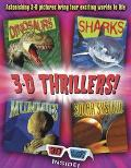 3-D Thrillers Dinosaurs, Sharks, Mummies, Outer Space