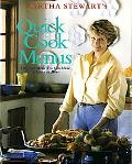 Martha Stewart's Quick Cook Menus 52 Meals You Can Make in Under an Hour
