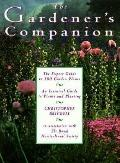 Gardener's Companion - Christopher D. Brickell - Hardcover - 1st American ed