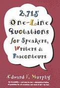 2,715 One-Line Quotations - Edward F. Murphy - Hardcover - Special Value