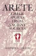 Arete Greek Sports from Ancient Sources