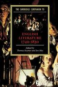 Cambridge Companion to English Literature 1740-1830
