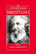 Cambridge Companion to Brentano