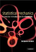 Statistical Mechanics A Concise Introduction for Chemists