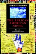 Cambridge Companion to the African American Novel