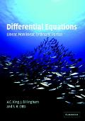 Differential Equations Linear, Nonlinear, Ordinary, Partial