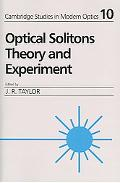 Optical Solitons Theory And Experiment
