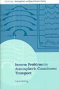 Inverse Problems in Atmospheric Constituent Transport