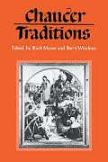 Chaucer Traditions Studies in Honour of Derek Brewer