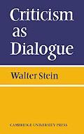 Criticism as Dialogue