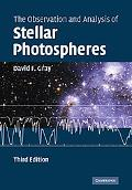 Observation and Analysis of Stellar Photospheres