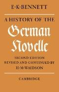 History of the German Novelle