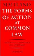 Forms of Action at Common Law A Course of Lectures