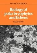 Biology of Polar Bryophytes and Lichens