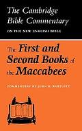 First and Second Books of the Maccabees - John R. Bartlett - Paperback