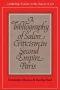 Bibliography of Salon Criticism in Second Empire Paris
