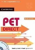 PET Direct Teacher's Book with Class Audio CD