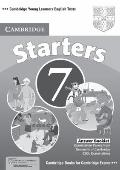 Cambridge Young Learners English Tests 7 Starters Answer Booklet : Examination Papers from U...
