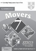 Cambridge Young Learners English Tests 7 Movers Answer Booklet : Examination Papers from Uni...