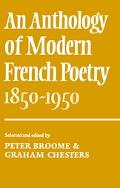 Anthology of Modern French Poetry 1850-1950